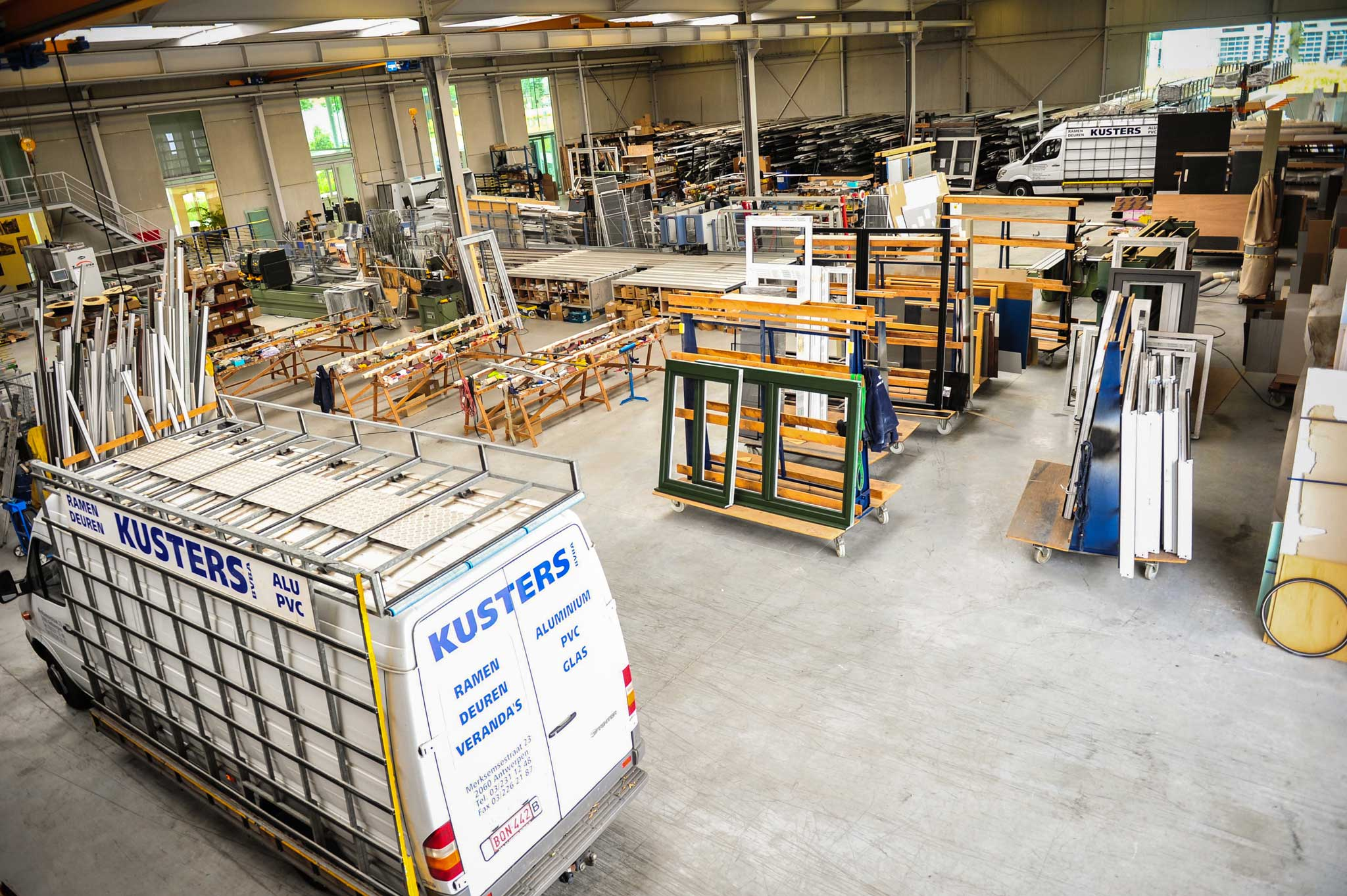 Kusters fabriek Antwerpen
